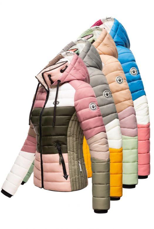 Dame dyne jakke med hætte Navahoo Lulana Multi - Flere Farver