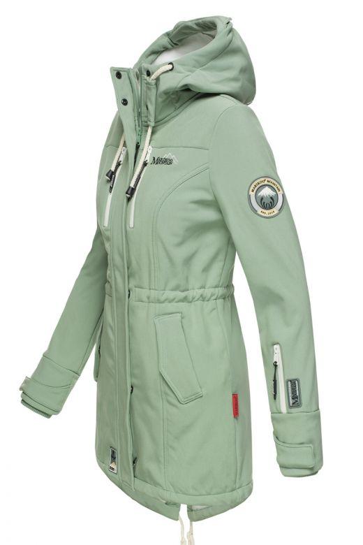 Flot Softshell outdoor jakke i Mint