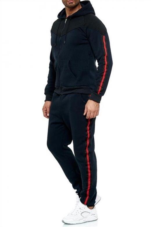Jogging Fritids sæt i Navy Blå
