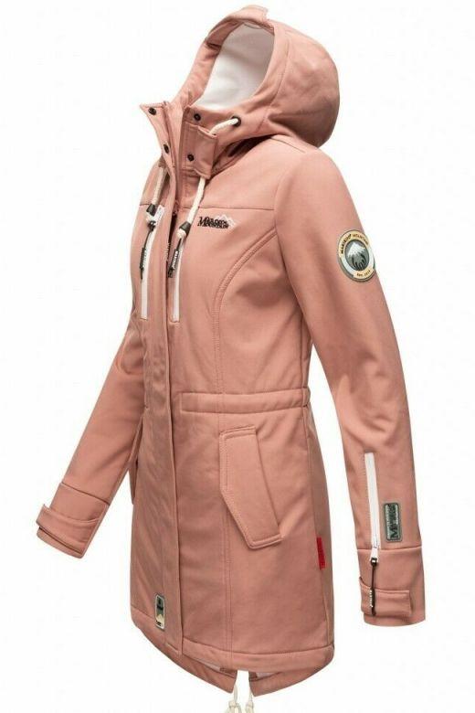 Flot Softshell outdoor jakke i Terracotta