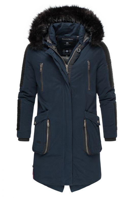 Warrior Herre vinter jakke i Navy Blå