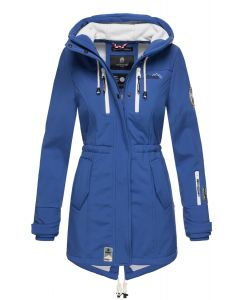 Flot Softshell fritids jakke i Royal Blå