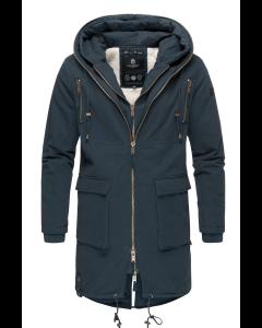 Assasin Herre vinter jakke i Navy Blå