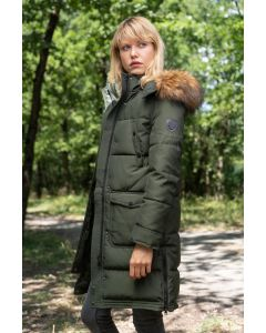 Dame Vinterjakke Jayloucy Lahti i Army Grøn