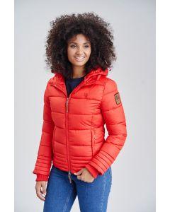Dame vinter jakke Sole - Rød