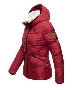 Kort vinter jakke Megan - Sort Bordeaux