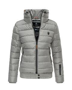 Dame dyne jakke Posion - Grå