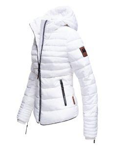Dame Vinterjakke Amber rytter - Hvid