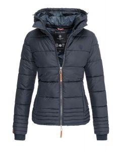 Dame vinter jakke Sole - Navy