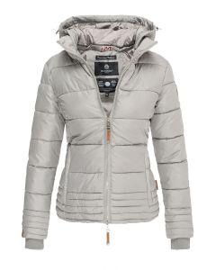 Dame vinter jakke Sole - Grå