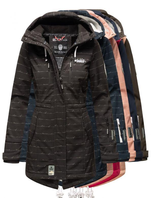 Dame Softshell outdoor jakke - Flere Farver