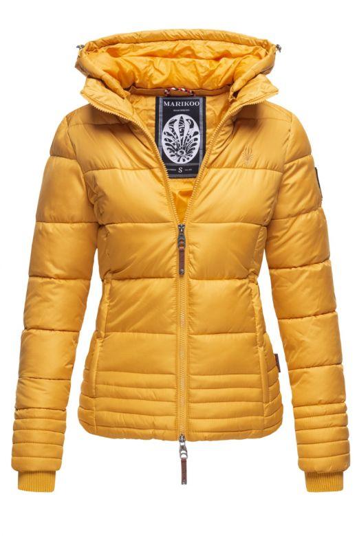 Dame vinter jakke Sole - Gul