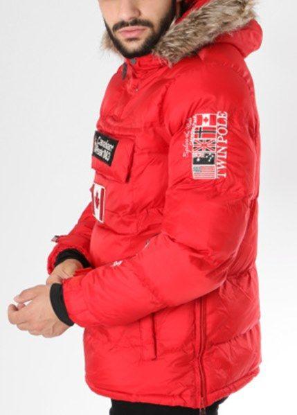 Flot Anorak jakke i Rød