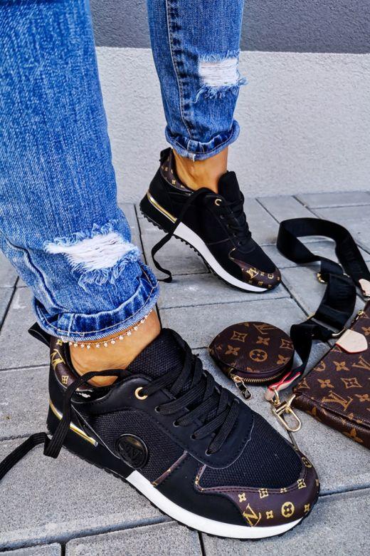 Sneakers LW Lugano i Sort