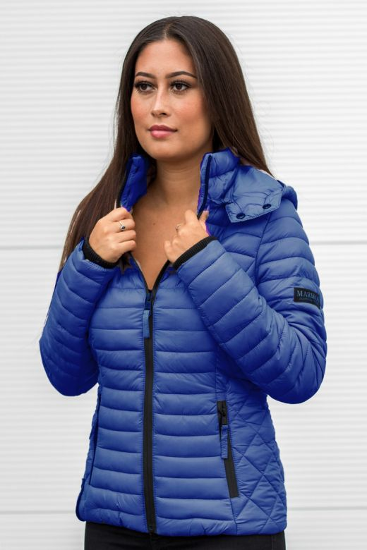 Sara let dun jakke Blue Jean