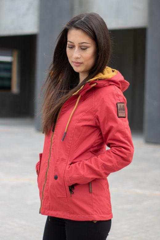 Dame Outdoor Vendejakke Chuu - Rød