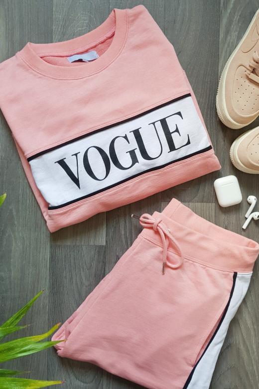 Vogue 2-piece Sæt i Rosa