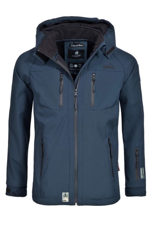 Herre Softshell / Outdoor Jakke Noaa Navy