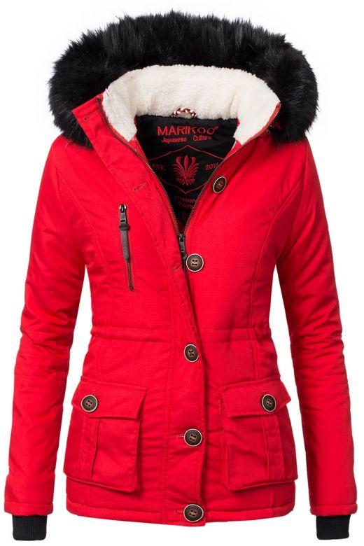 Rosie vinter jakke i Rød