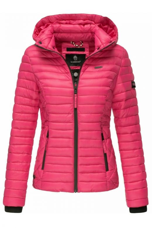 Sara let dun jakke Pink