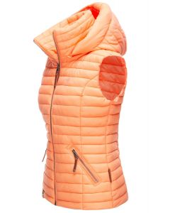 Dame sommer vest shada - Light Orange