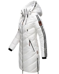 Dame vinterjakke Armasa i Hvid