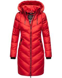 Dame vinterjakke Armasa i Rød