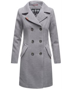 Dame vinter Frakke Nanako - Grå