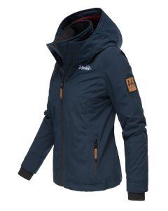 Outdoor jakke Eberre - Navy Blå