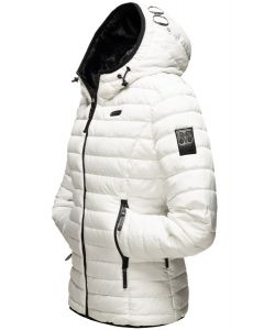 Dame vinterjakke Jayla i Hvid