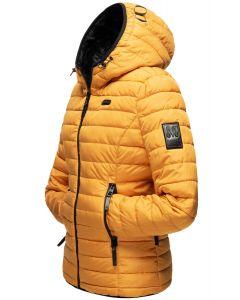 Dame vinterjakke Jayla i Gul