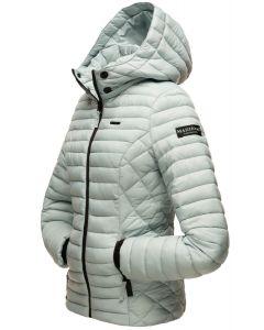 Dame let dun jakke Navahoo Samtphote i Pastel Blå