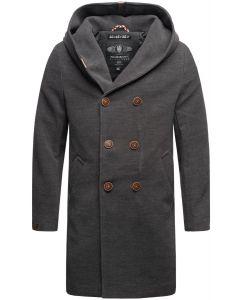 Herre frakke Marikoo Irukoo i Anthracite Grå