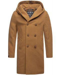 Herre vinter frakke Irukoo - Camel