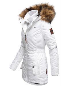 Dame outdoor Vinterjakke Sanko - Hvid