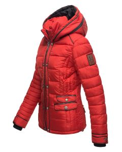 Kort Dame Vinterjakke Mausi - Rød