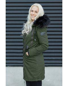 Lang Dame Frakke Leona - Grøn