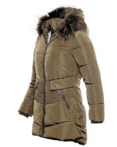 Moni Flot Vinter pige jakke i Army.