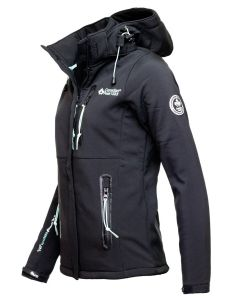 Softshell Jakke fra Canadian Peak - Sort