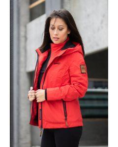 Outdoor jakke Eberre - Rød