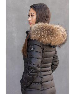 Dame Vinterjakke - Lugano med Pels