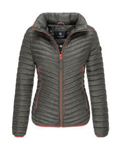 Dame overgangs jakke Navahoo Pari - Anthracite