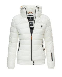 Dame dyne jakke Posion - Hvid