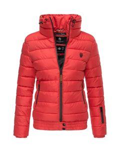 Dame dyne jakke Posion - Rød