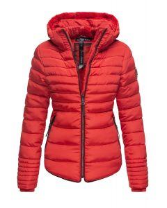 Dame Vinterjakke Amber rytter - Rød
