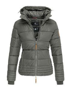 Dame vinter jakke Sole - Mørkegrå