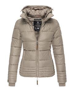 Dame vinter jakke Sole - Beige