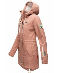 Flot Softshell outdoor jakke i Terracotta