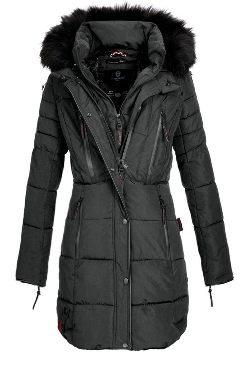 Dame Vinter jakke Moonshine Mørke Grå