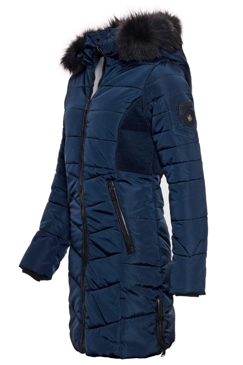 Dame Vinterjakke Bern Blå